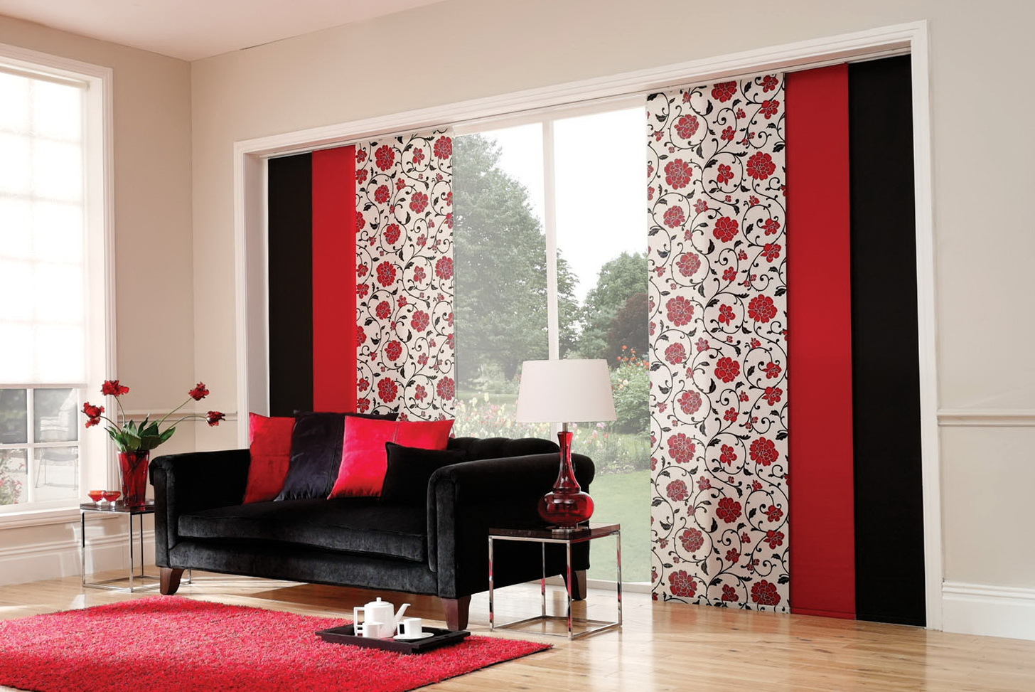 sliding panel curtains canada
